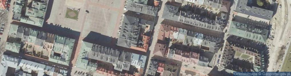 Zdjęcie satelitarne Bazyliańska ul.