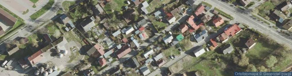 Zdjęcie satelitarne Bednarska ul.