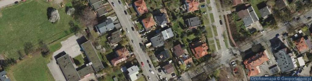 Zdjęcie satelitarne Beniowskiego Maurycego ul.
