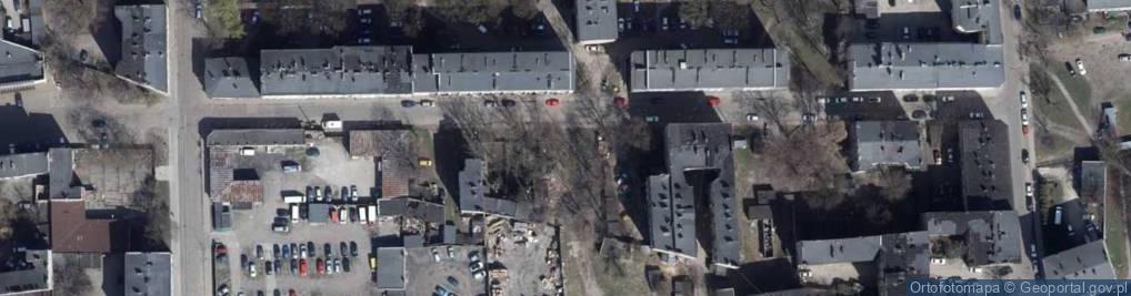 Zdjęcie satelitarne Berlińskiego H. ul.