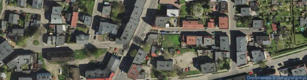 Zdjęcie satelitarne Bednorza Herberta, bp. ul.