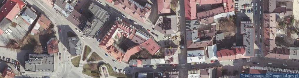 Zdjęcie satelitarne Bernardyńska ul.