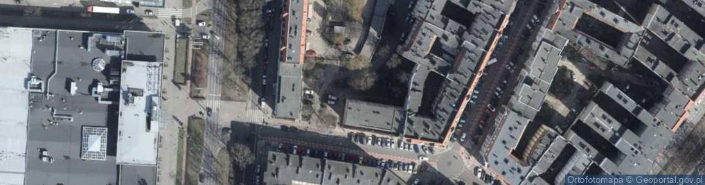 Zdjęcie satelitarne Bema Józefa, gen. ul.
