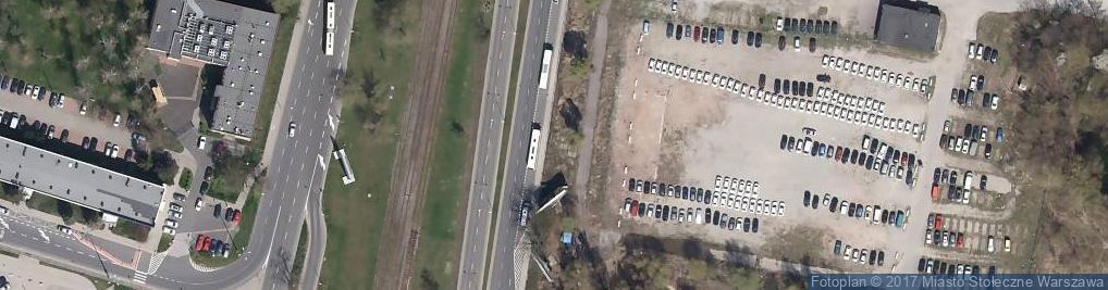 Zdjęcie satelitarne Bennetta Jamesa Gordona ul.