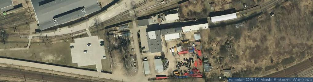 Zdjęcie satelitarne Berestecka ul.