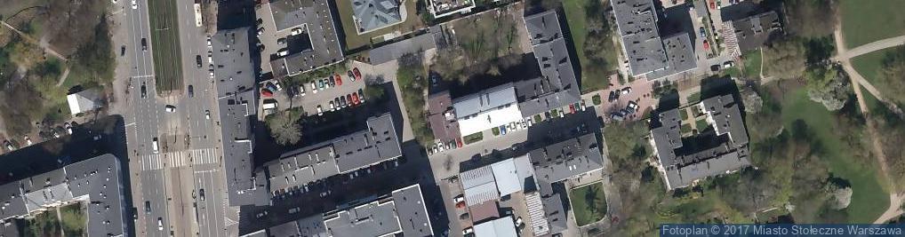 Zdjęcie satelitarne Belgijska ul.