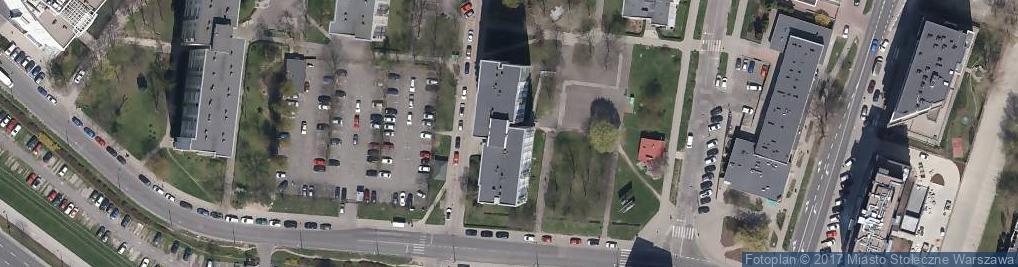Zdjęcie satelitarne Bełdan ul.
