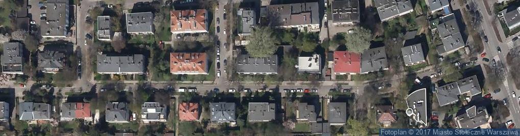 Zdjęcie satelitarne Berezyńska ul.