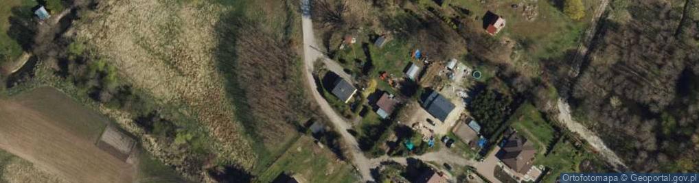 Zdjęcie satelitarne Biały Bór ul.