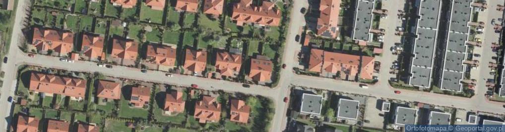 Zdjęcie satelitarne Białkowskiego Karola ul.