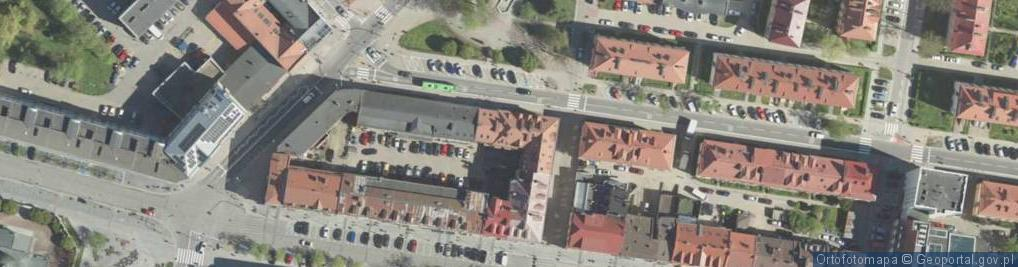 Zdjęcie satelitarne Białówny Ireny, dr ul.