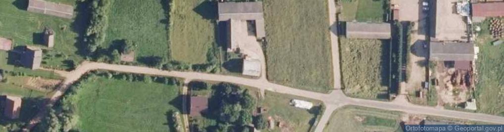 Zdjęcie satelitarne Biodry ul.