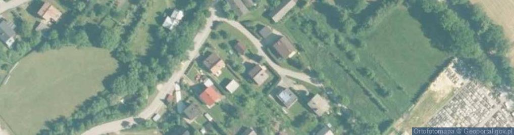 Zdjęcie satelitarne Biała Droga ul.