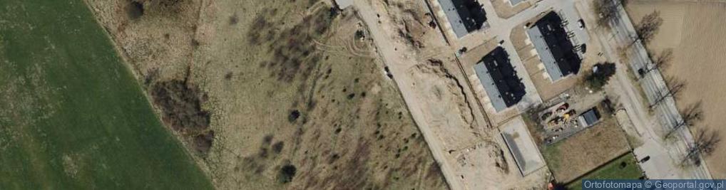 Zdjęcie satelitarne Billewiczówny Oleńki ul.