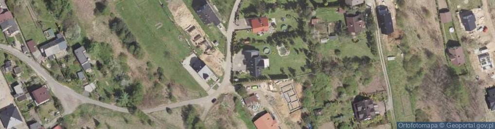 Zdjęcie satelitarne Bielany ul.