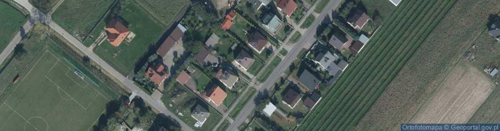 Zdjęcie satelitarne Biłgorajska ul.