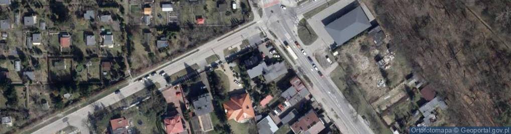 Zdjęcie satelitarne Biegunowa ul.