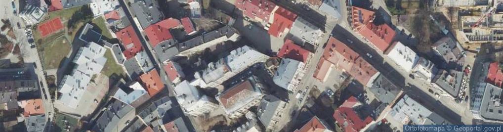Zdjęcie satelitarne Biblioteczna ul.