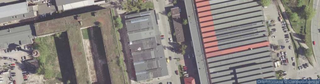 Zdjęcie satelitarne Biznesowa ul.