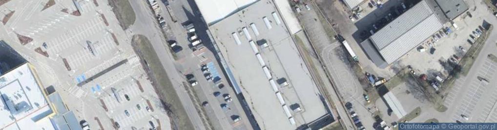 Zdjęcie satelitarne Białowieska ul.