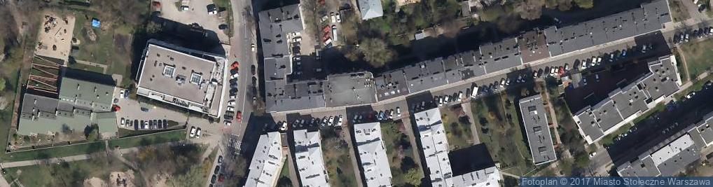 Zdjęcie satelitarne Bieniewicka ul.