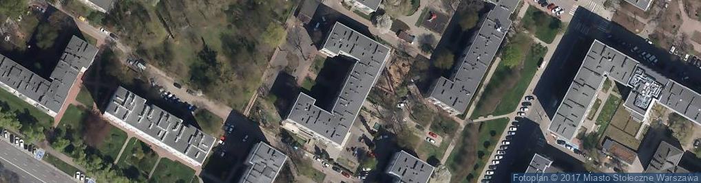 Zdjęcie satelitarne Białobrzeska ul.