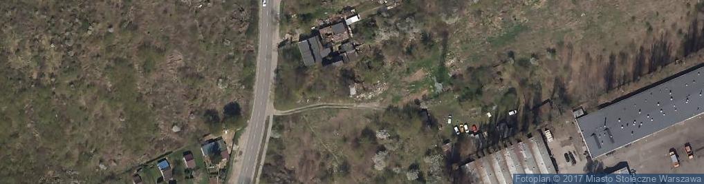 Zdjęcie satelitarne Białołęcka ul.