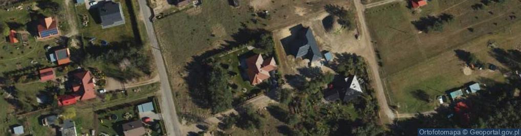 Zdjęcie satelitarne Bławatkowa ul.