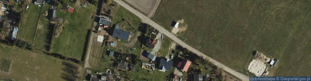 Zdjęcie satelitarne Bluszczowa ul.