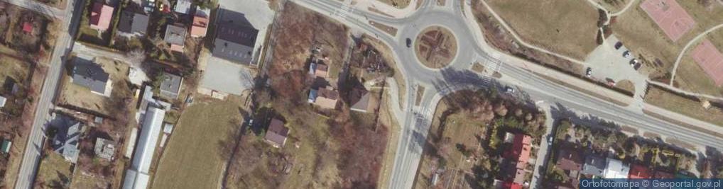 Zdjęcie satelitarne bł. Karoliny ul.