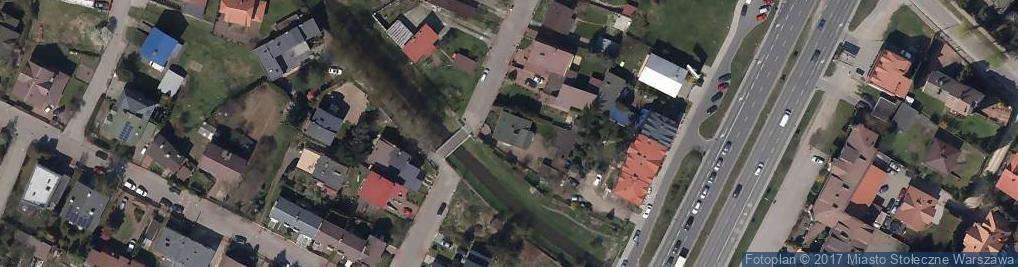 Zdjęcie satelitarne Błędowska ul.