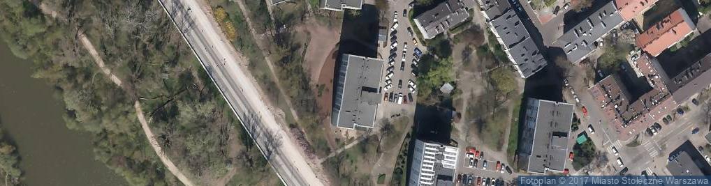 Zdjęcie satelitarne Blaszana ul.