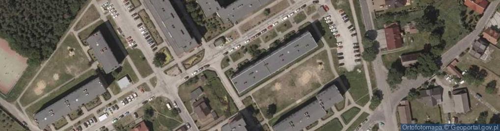 Zdjęcie satelitarne Bolka I Świdnickiego ul.