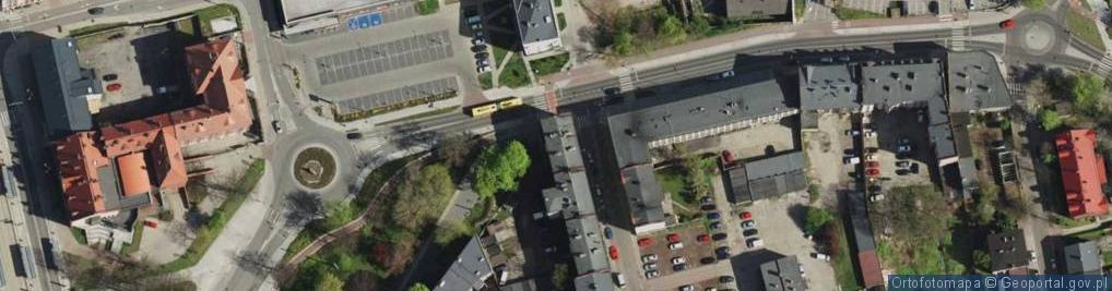 Zdjęcie satelitarne Bogedaina Bernarda, ks. bp. ul.
