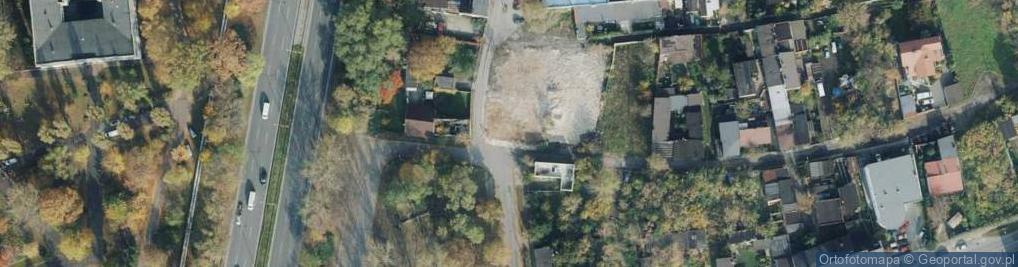Zdjęcie satelitarne Bociania ul.