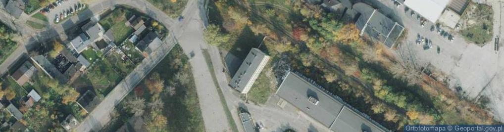 Zdjęcie satelitarne Bór ul.