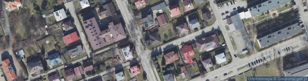 Zdjęcie satelitarne Bojanowskiego ul.