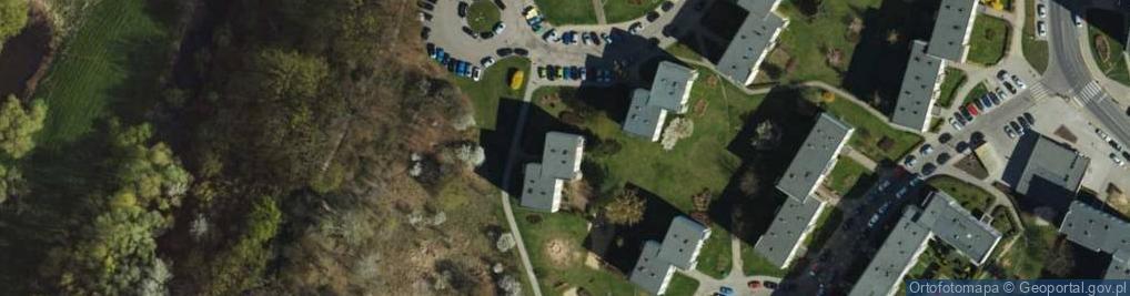 Zdjęcie satelitarne Bołtucia Mikołaja, gen. ul.