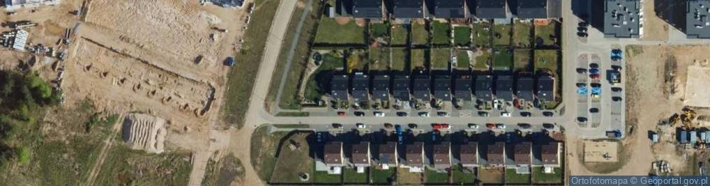 Zdjęcie satelitarne Borówkowa ul.