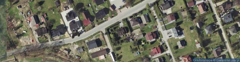 Zdjęcie satelitarne Borowskiego ul.