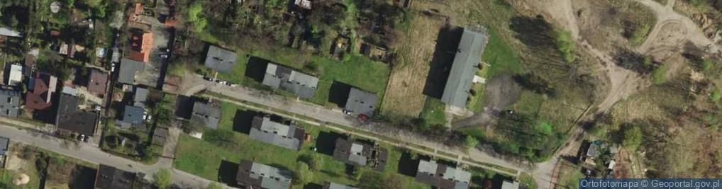 Zdjęcie satelitarne Borki ul.
