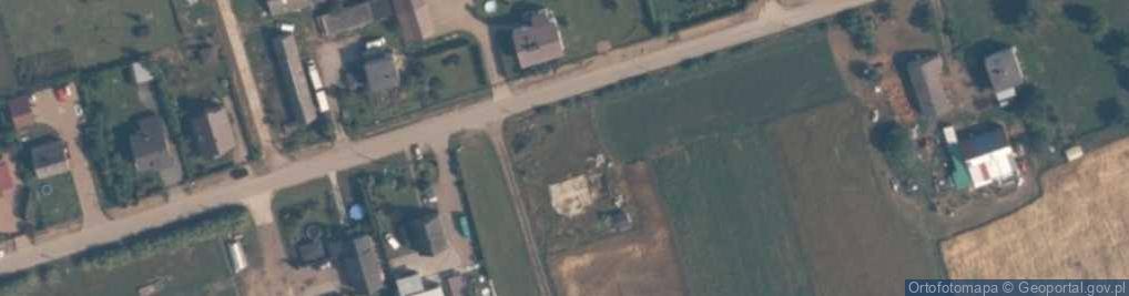 Zdjęcie satelitarne Borysiewicza, ks. ul.