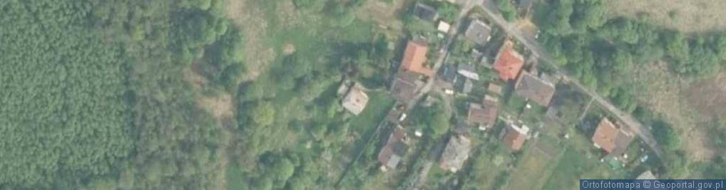 Zdjęcie satelitarne Bory ul.