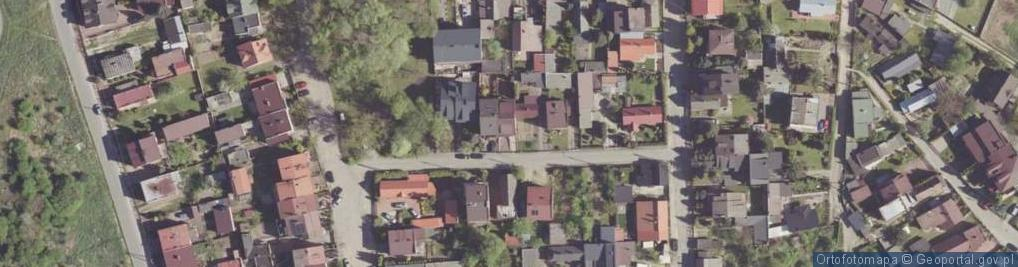 Zdjęcie satelitarne Borkowskich Józefa i Stanisława ul.