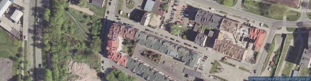 Zdjęcie satelitarne Bóżniczna ul.