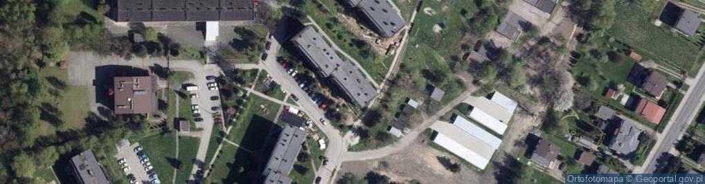Zdjęcie satelitarne Boczna ul.