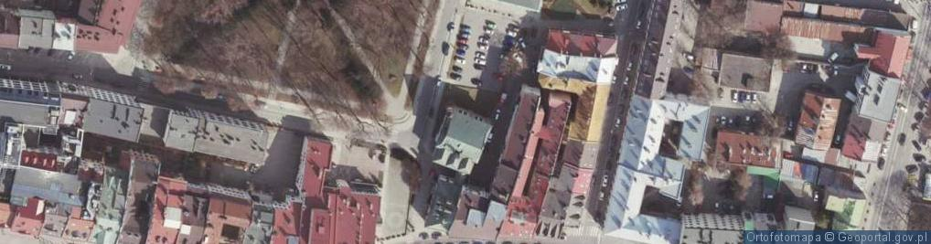 Zdjęcie satelitarne Bożnicza ul.