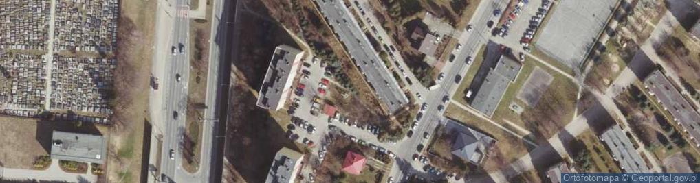 Zdjęcie satelitarne Bohaterów ul.
