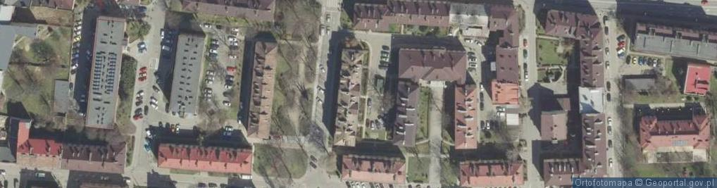 Zdjęcie satelitarne Bóżnic ul.