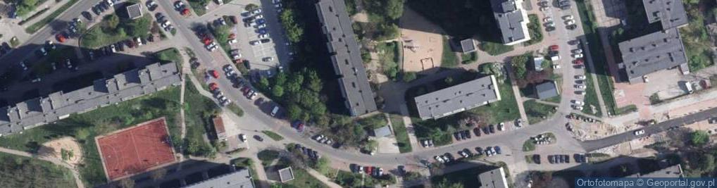 Zdjęcie satelitarne Bolta Antoniego ul.